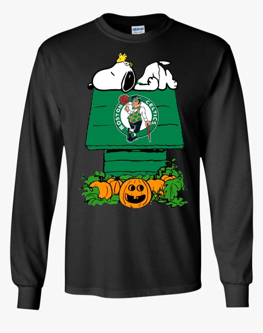 Snoopy Boston Celtics Halloween Shirt Png Boston Celtics - Boston Celtics, Transparent Png, Free Download