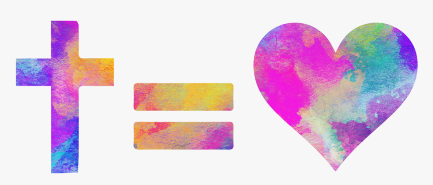 Cross Equals Love Png - Heart, Transparent Png, Free Download
