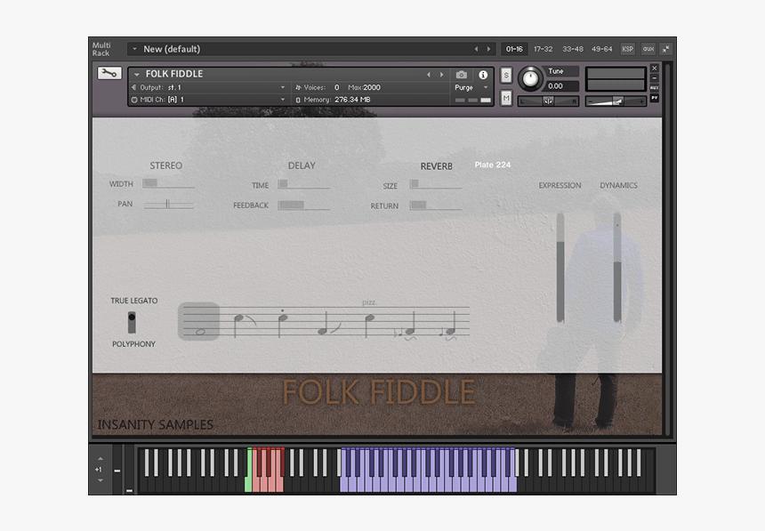 Folk Fiddle - Multimedia Software, HD Png Download, Free Download