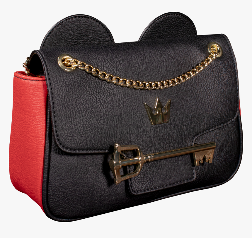 """Mickey Mouse Key 9"""" Faux Leather Crossbody Bag - Shoulder Bag, HD Png Download, Free Download"""