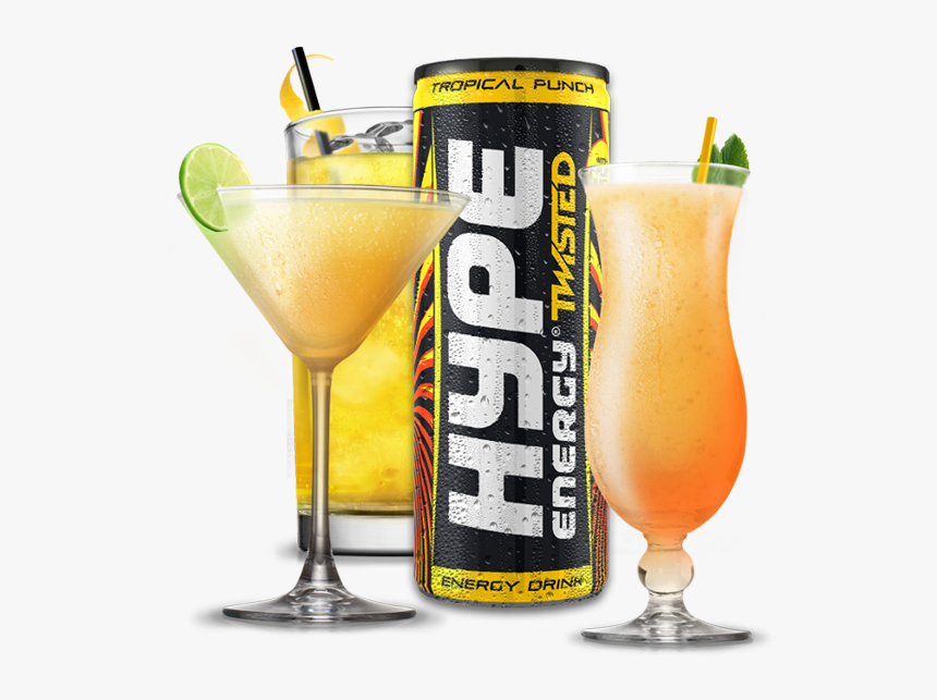 Mixer Tropical 1 Hype Energy Drink Pink Hd Png Download Kindpng
