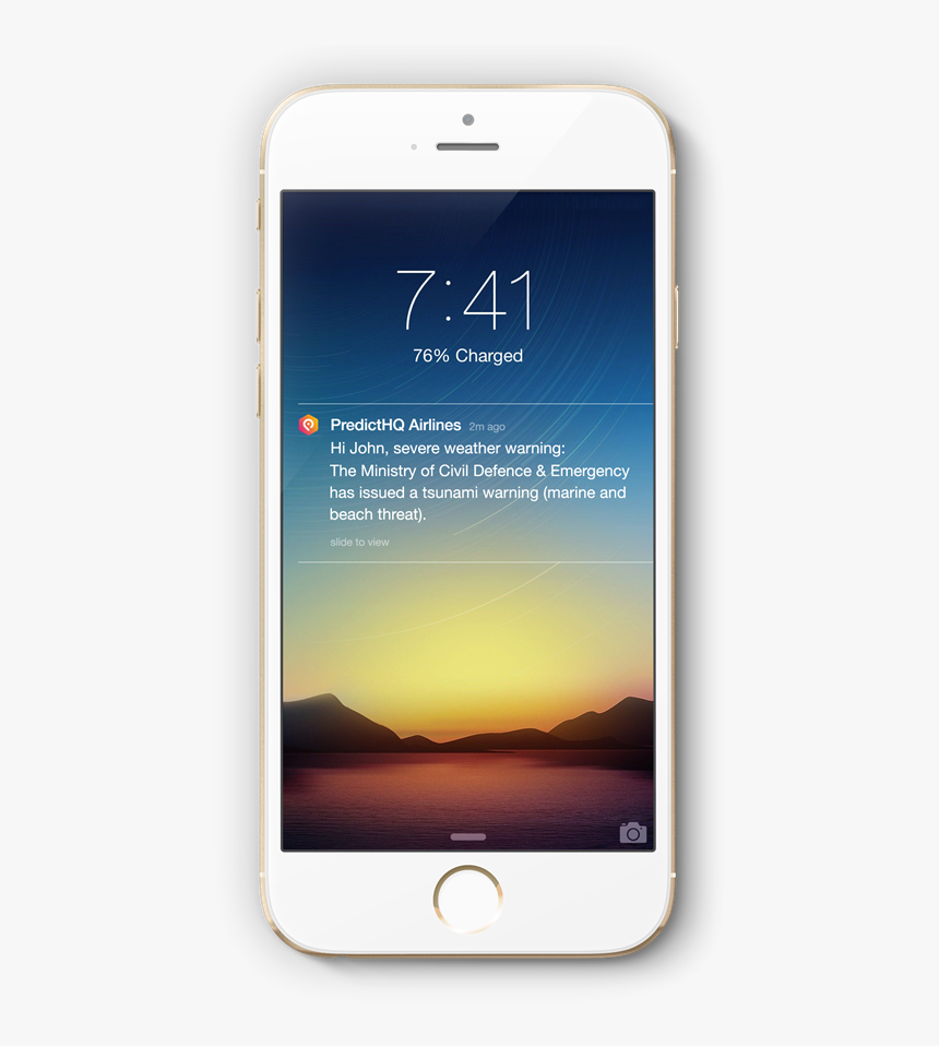 Push Notification Iphone 7, HD Png Download, Free Download