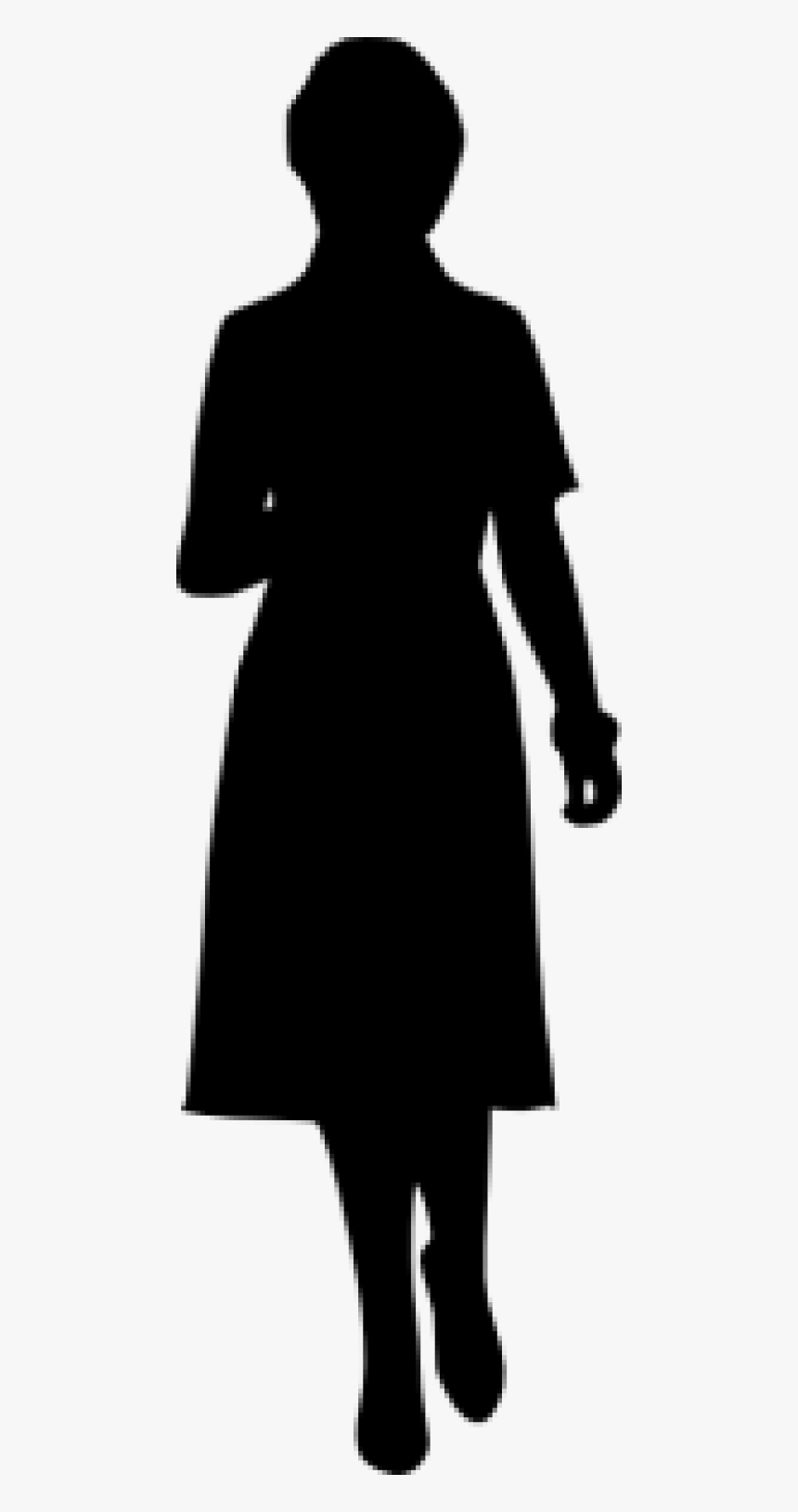 Free Png Woman Silhouette Png - Silhouette Of A Boy Graduate, Transparent Png, Free Download