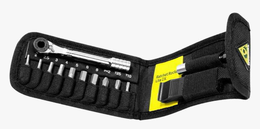 Topeak Ratchet Rocket Lite Dx Tool Set - Adjustable Spanner, HD Png Download, Free Download