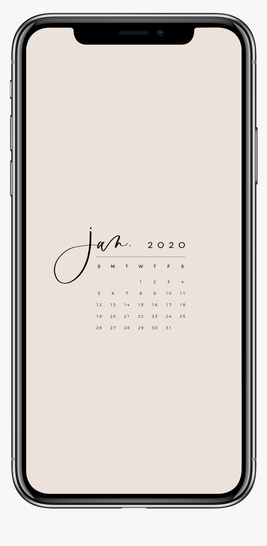 Jan2020 Iphone X Mockup - Flutter Instagram Clone, HD Png Download, Free Download