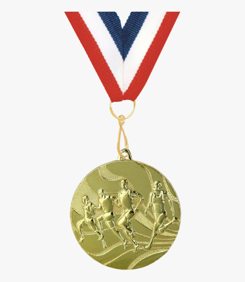 Gold Medal Png Image - Olympic Medals For Running, Transparent Png, Free Download