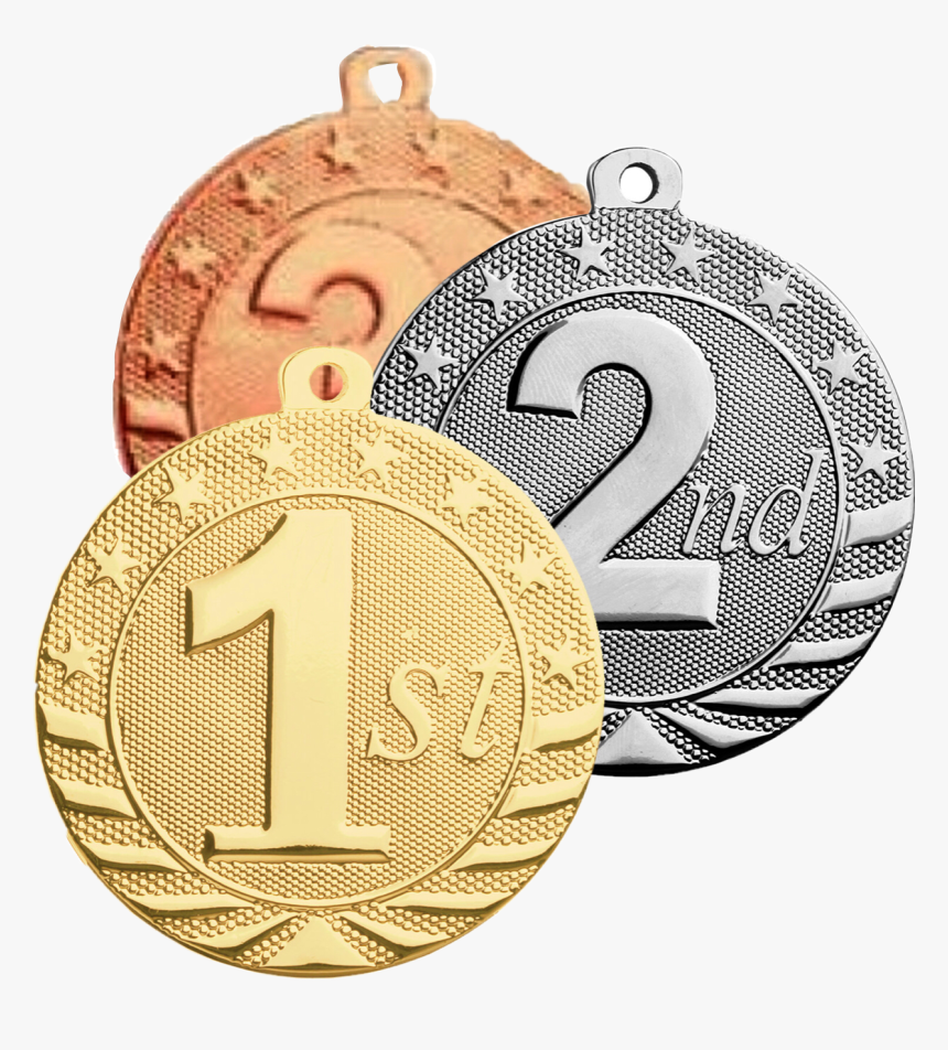 #medals #golden #silver #bronze #1st #2nd #3rd #freetoedit - Silver & Gold Medal, HD Png Download, Free Download