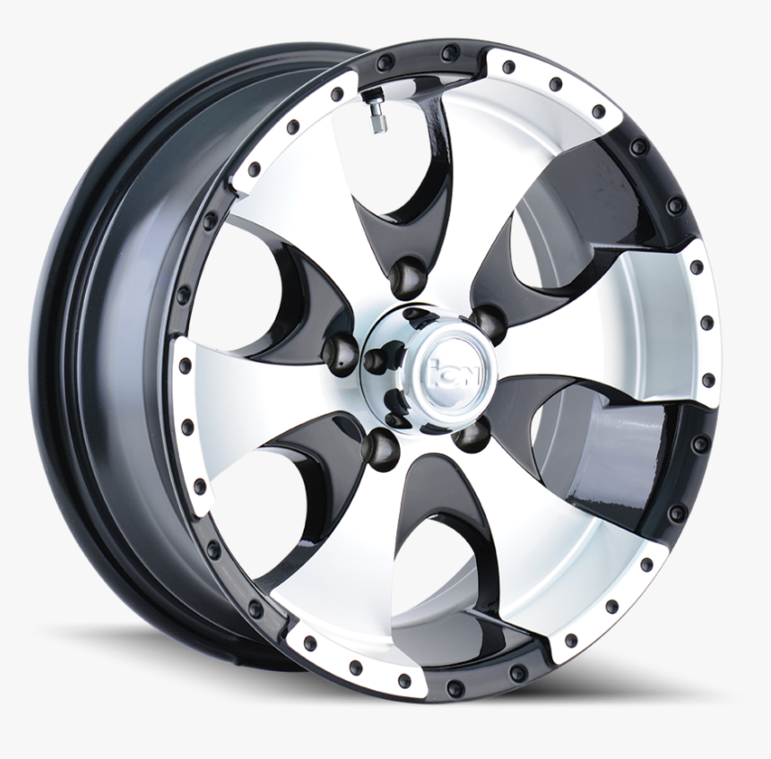 Ion136blackmachined Main - Ion Trailer Wheels, HD Png Download, Free Download