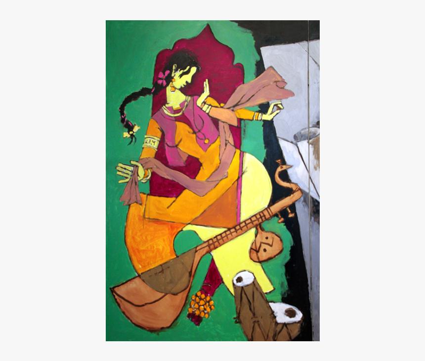 Mf Hussain Hindu Paintings, HD Png Download, Free Download