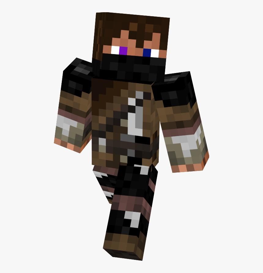 Enderman Hunter Minecraft Skins Hunter X Hunter - Enderman Hunter Skin, HD Png Download, Free Download