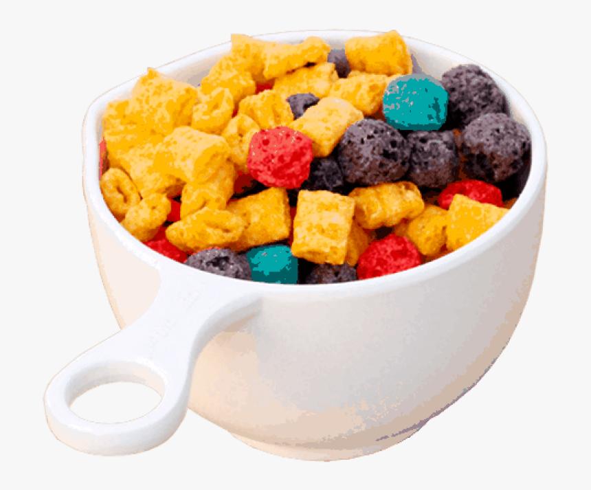 Captain Crunch Cereal Png - Bowl Of Cereal Captain Crunch, Transparent Png, Free Download