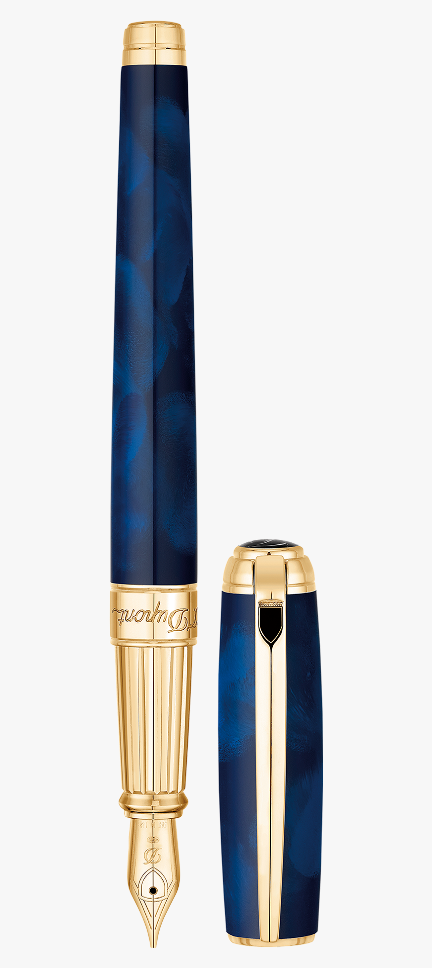 Fountain Pen St Dupont Blue, HD Png Download, Free Download