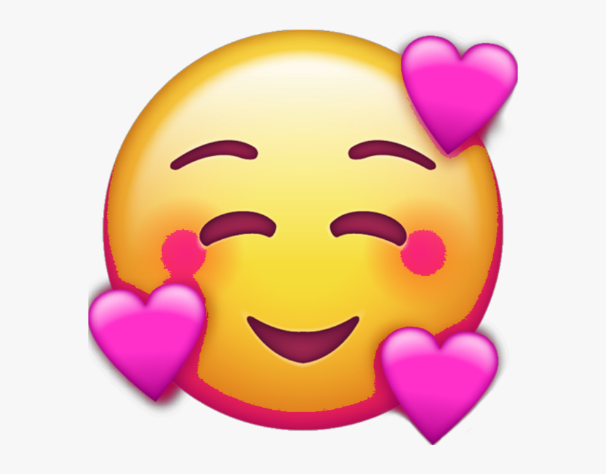 #emojis #emoji #heart #heart #heartemoji #smiley #love - Iphone Emoji Transparent Background, HD Png Download, Free Download