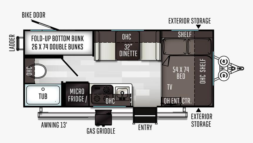 2020 E Pro Travel Trailer Floor Plans