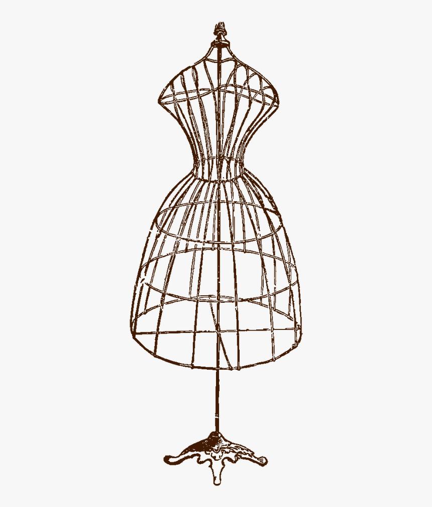 Dress Form Dressmaker Vintage Clothing