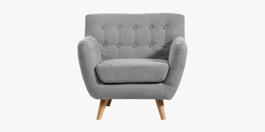 One Seater Sofa Png, Transparent Png, Free Download