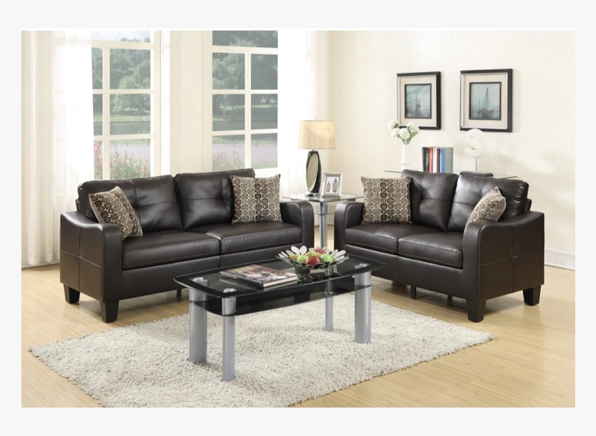 Charcoal Living Room Sets With Recliner, HD Png Download, Free Download