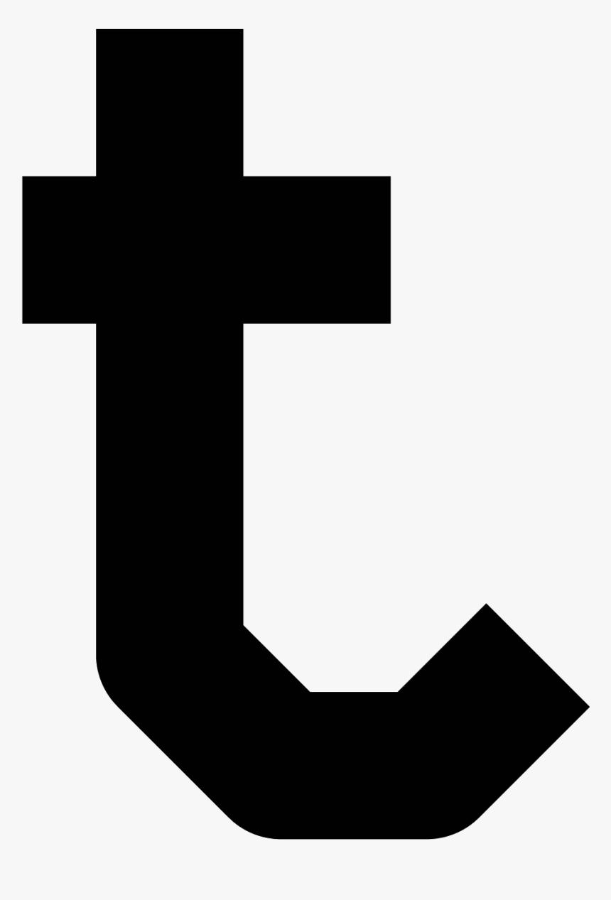 Letter T Png - Left Up Arrow Symbol, Transparent Png, Free Download