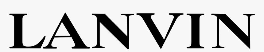 Lanvin Logo Png Transparent - Lanvin Logo, Png Download - kindpng