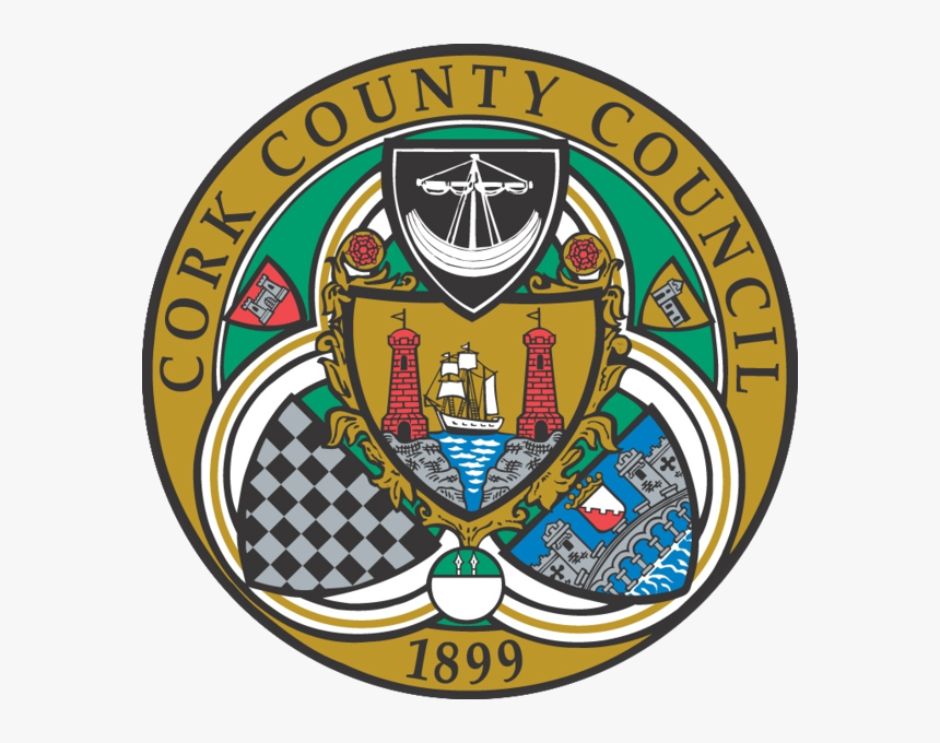 Cork County Arms - Cork County Council Logo, HD Png Download, Free Download