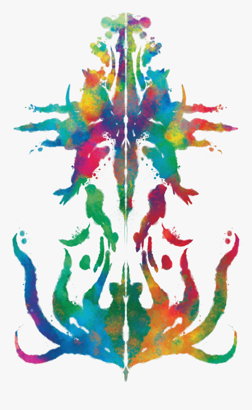 Color-rorschachwgap, HD Png Download, Free Download
