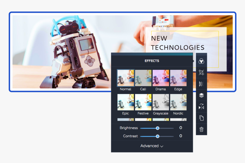 Create Header In Crello - Gadget, HD Png Download, Free Download