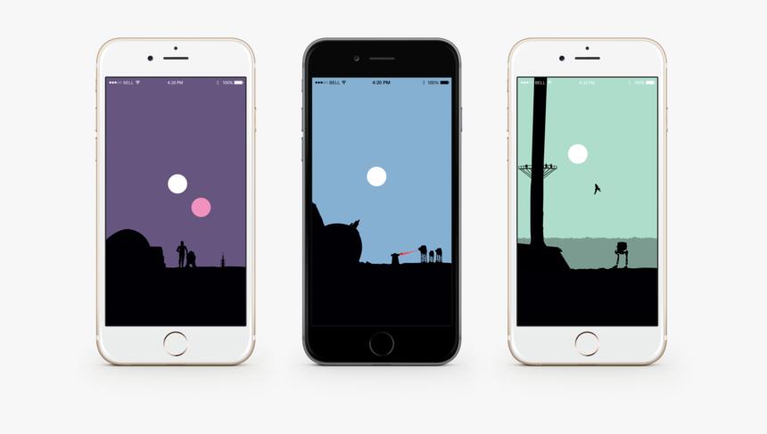 Star Wars Minimalist Iphones, HD Png Download, Free Download