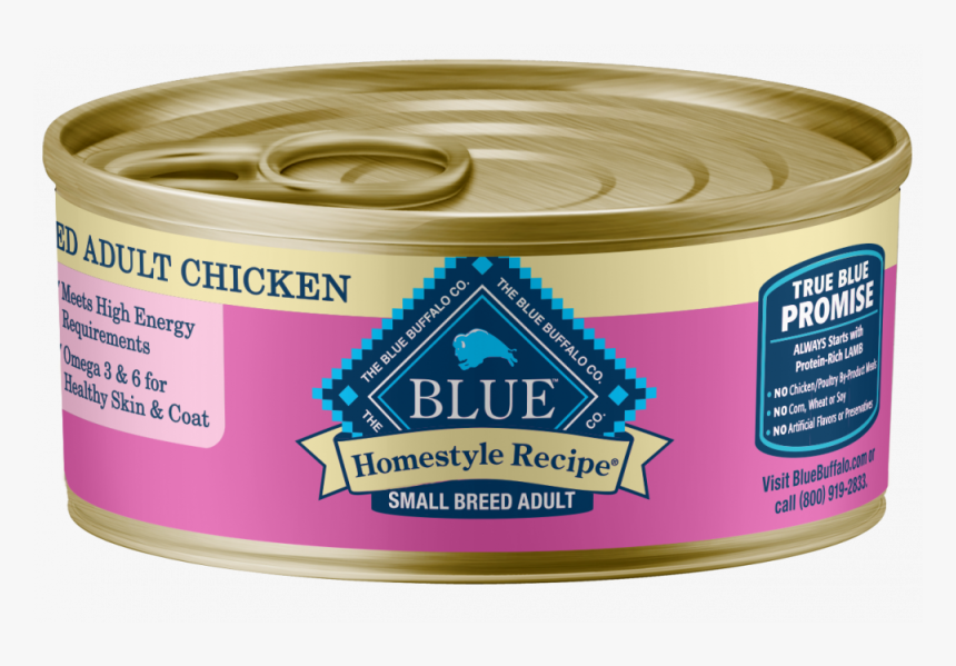 Blue Buffalo Homestyle Recipe Small Breed Chicken Dinner - Blue Buffalo Dog Food, HD Png Download, Free Download