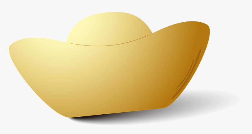 Ingot, Chinese, China, New, Year, Gold, Gift, Asian - ทอง ก้อน จีน Png, Transparent Png, Free Download