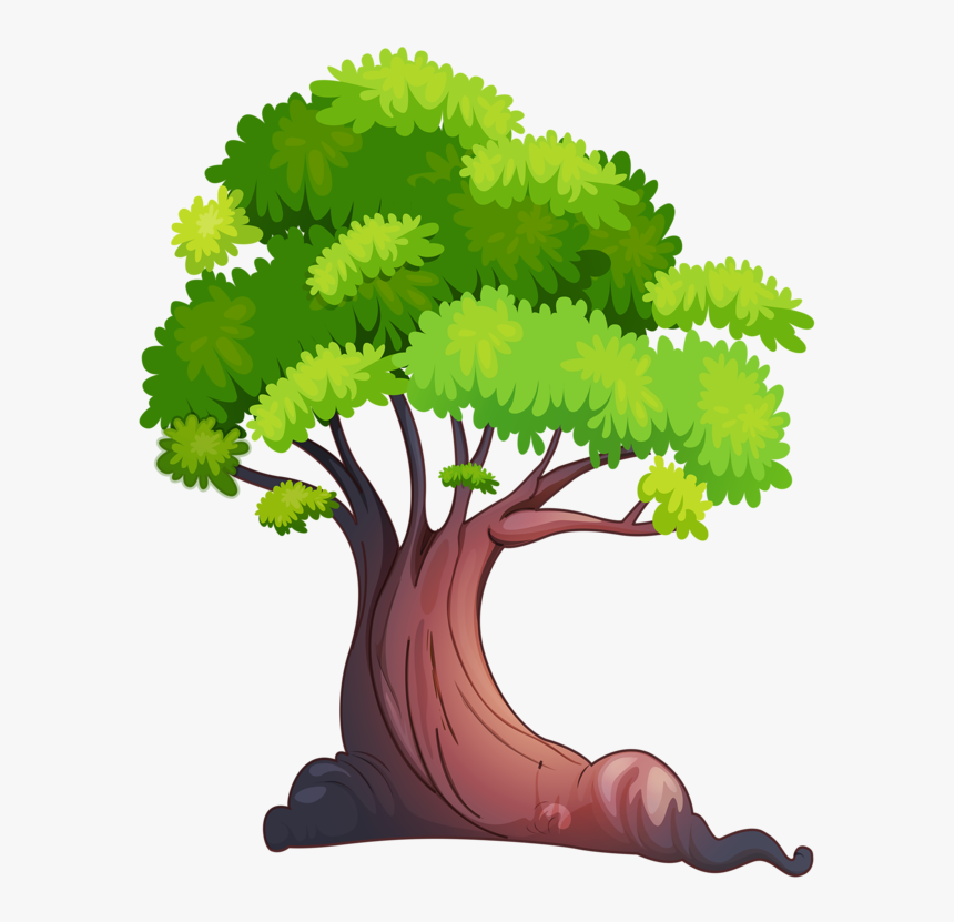 Image Du Blog Zezete - Grass And Tree Clipart Hd, HD Png Download, Free Download