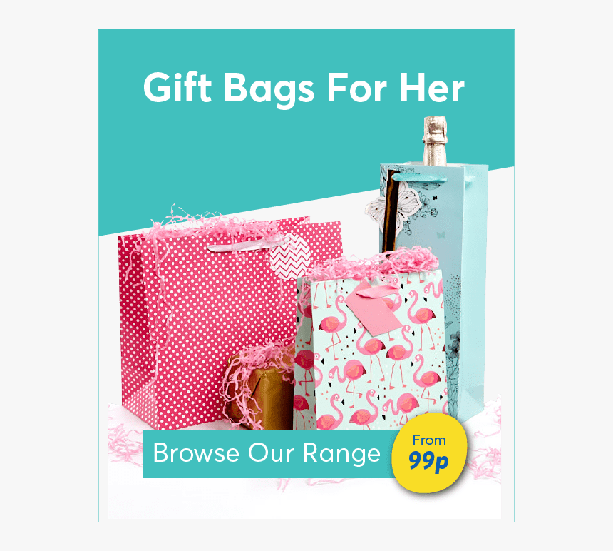 Gift Bags And Wrap For Her - Poster, HD Png Download, Free Download