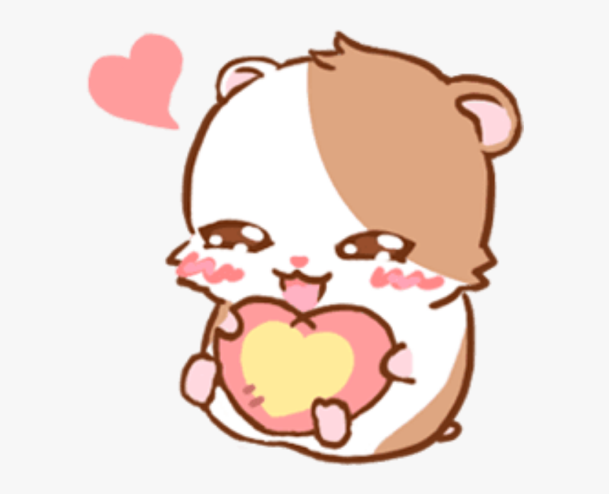 #kawaii #cute #mochiedit #mochi #overlay #png #edit - Hamster Kawaii Png, Transparent Png, Free Download