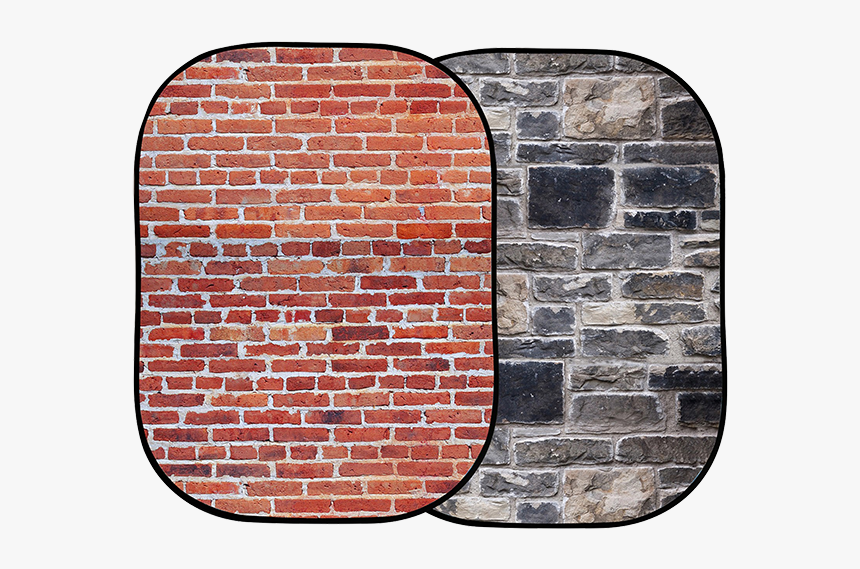 Lastolite Urban Collapsible - Red Brick Grey Stone, HD Png Download, Free Download