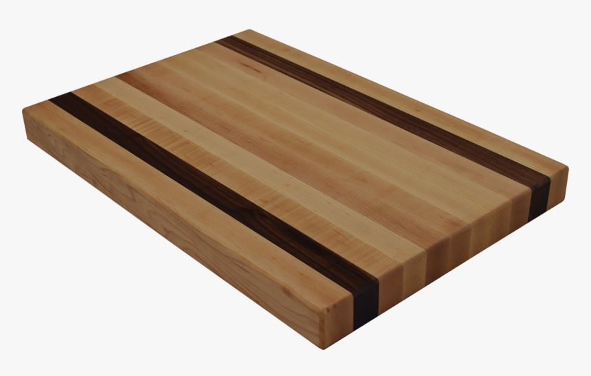 Maple Edge Grain Butcher Block Cutting Board With 2 - Plywood, HD Png Download, Free Download