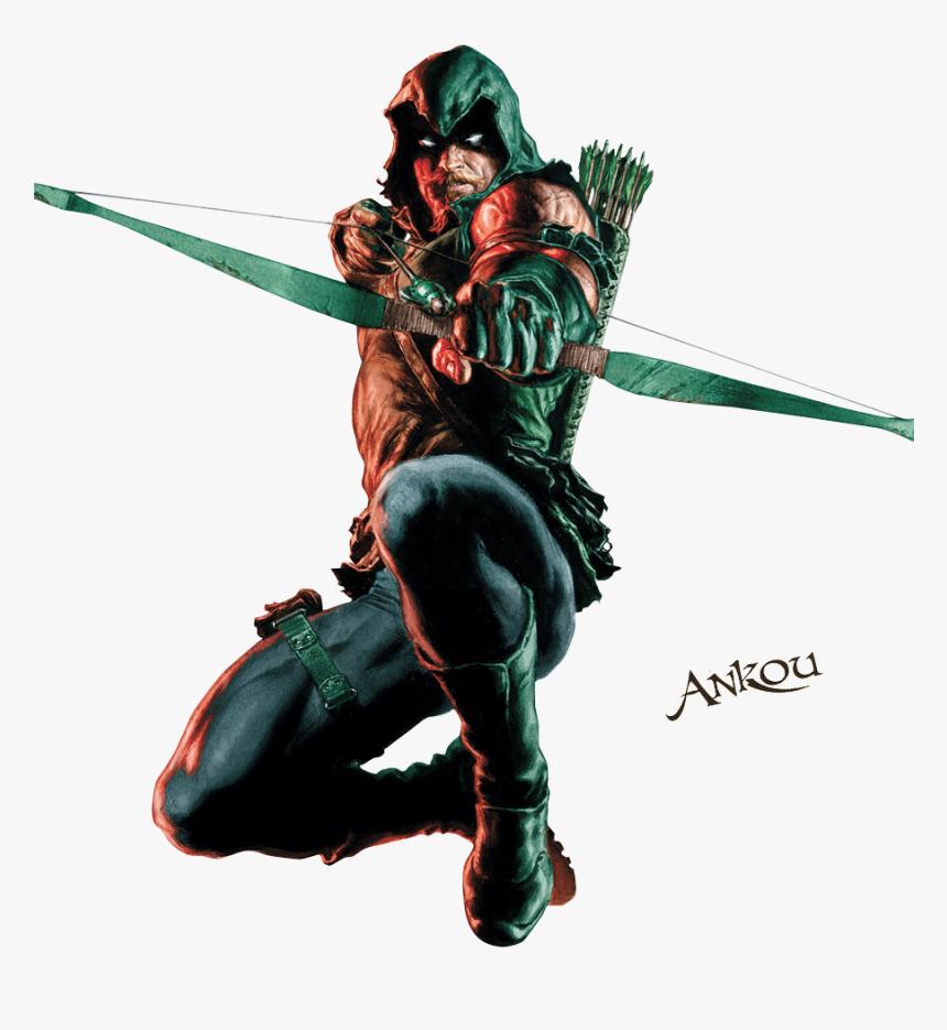 Green Arrow Dc Png, Transparent Png, Free Download