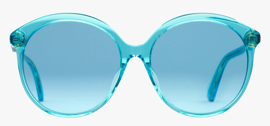 Gucci Round Blue Sunglasses, HD Png Download, Free Download