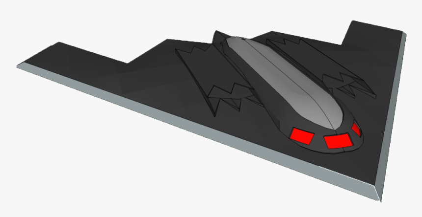 """[ Img] It""""s A Stealth Bomber - Lockheed F-117 Nighthawk, HD Png Download, Free Download"""
