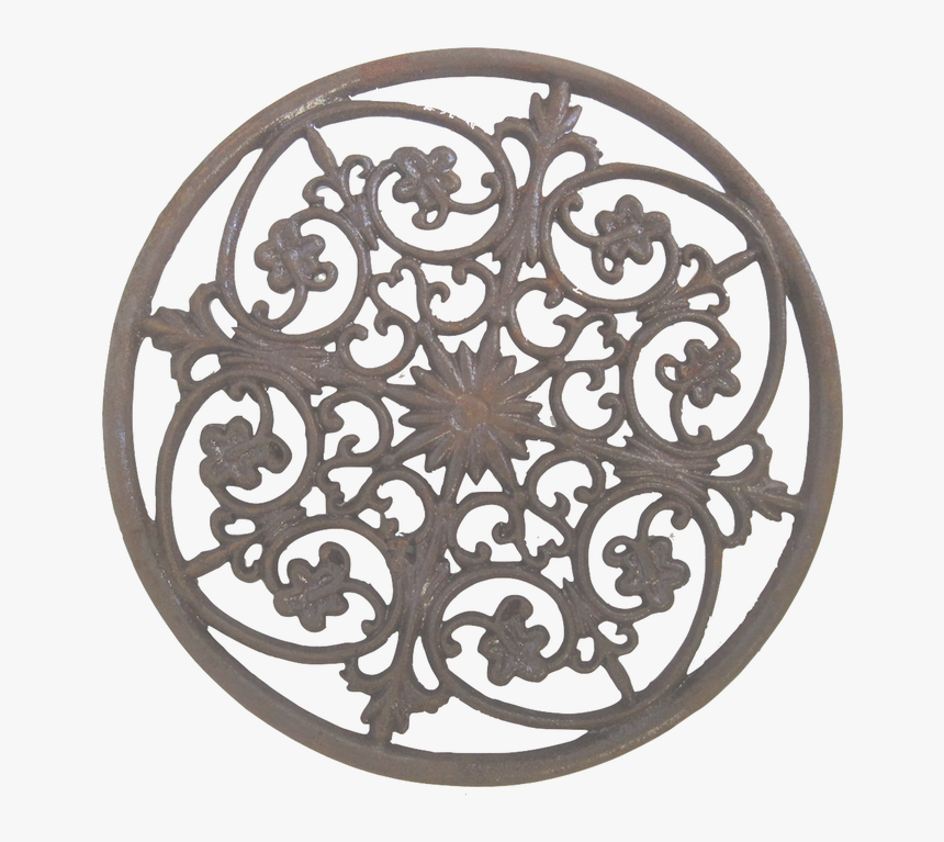 Floral Wall Decor Png Pic - Circle, Transparent Png, Free Download