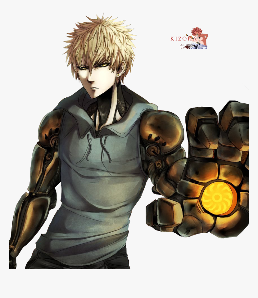 One Punch Man Characters Genos