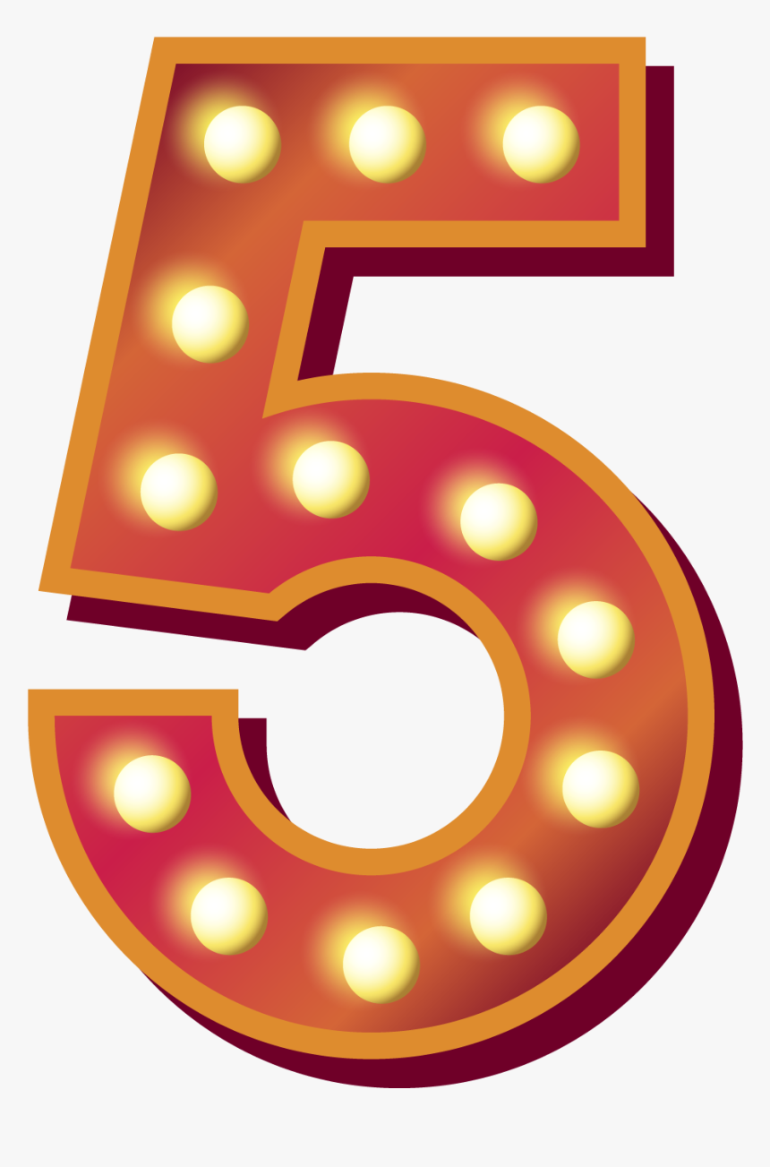 5 Number Png Royalty-free - 50 Transparent, Png Download, Free Download