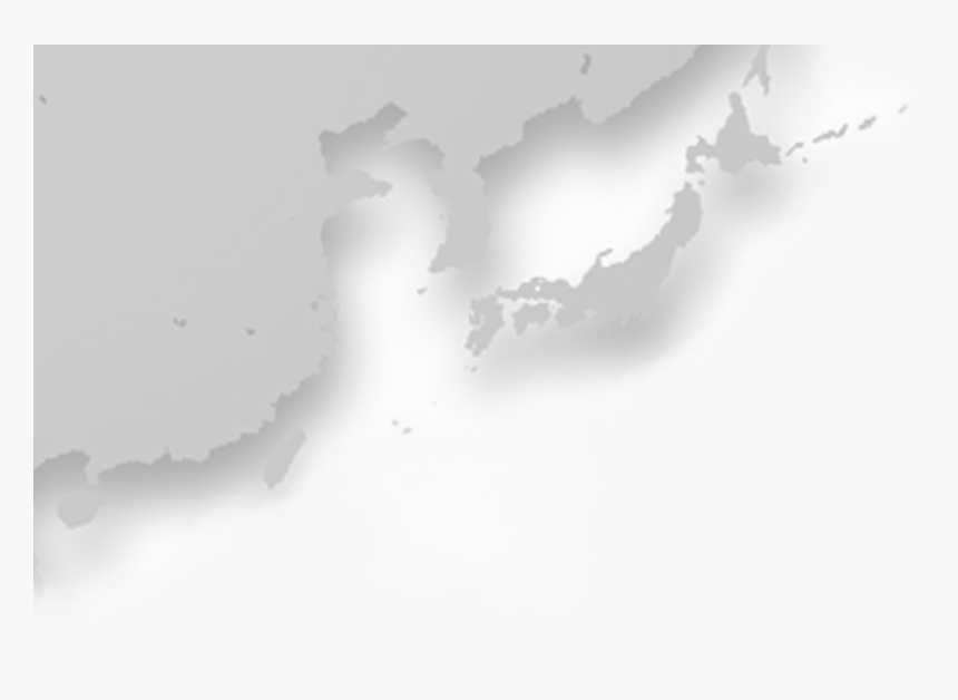 Map Of Ne Asia - Japan And Korea Map Png, Transparent Png, Free Download