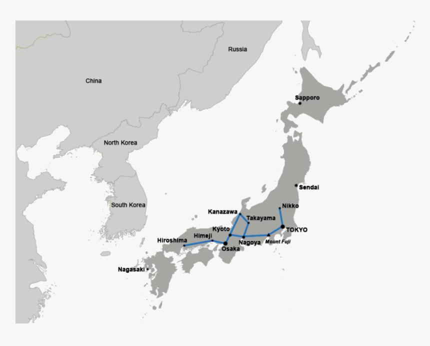 Japan Map Simple , Png Download - Transparent Background Japan Map Flag, Png Download, Free Download
