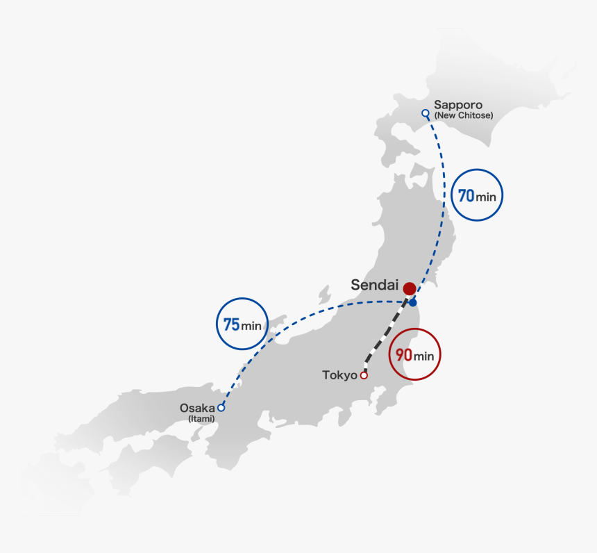 Tohoku Is The 'next Japan' For You - Japan Map Vector Free, HD Png Download, Free Download