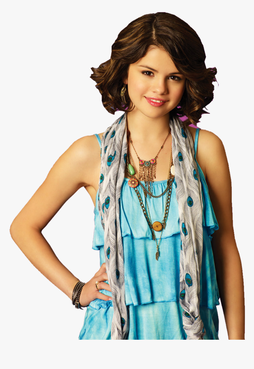 Short Hair Selena Gomez Wizards Of Waverly Place Hd Png Download Kindpng