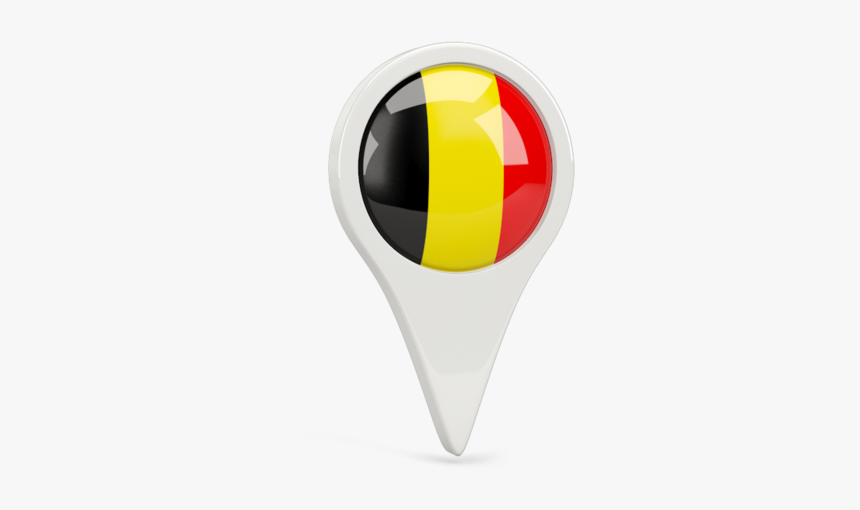 Round Pin Icon Belgium Flag Icon Pin Hd Png Download Kindpng