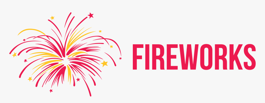 New Years Fireworks Clipart, HD Png Download, Free Download
