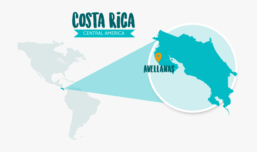 Silhouette Map Of Costa Rica Hd Png Download Kindpng