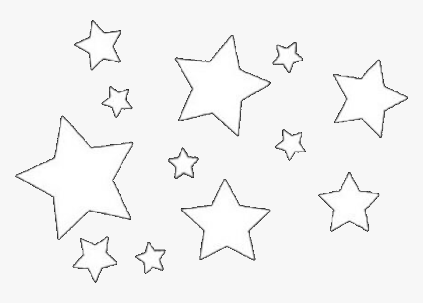 Transparent Star Pngs - Stars Overlays For Edits, Png Download, Free Download