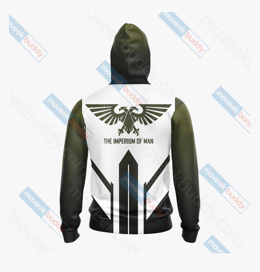 The Imperial Aquila Unisex Zip Up Hoodie Jacket - Hoodie, HD Png Download, Free Download