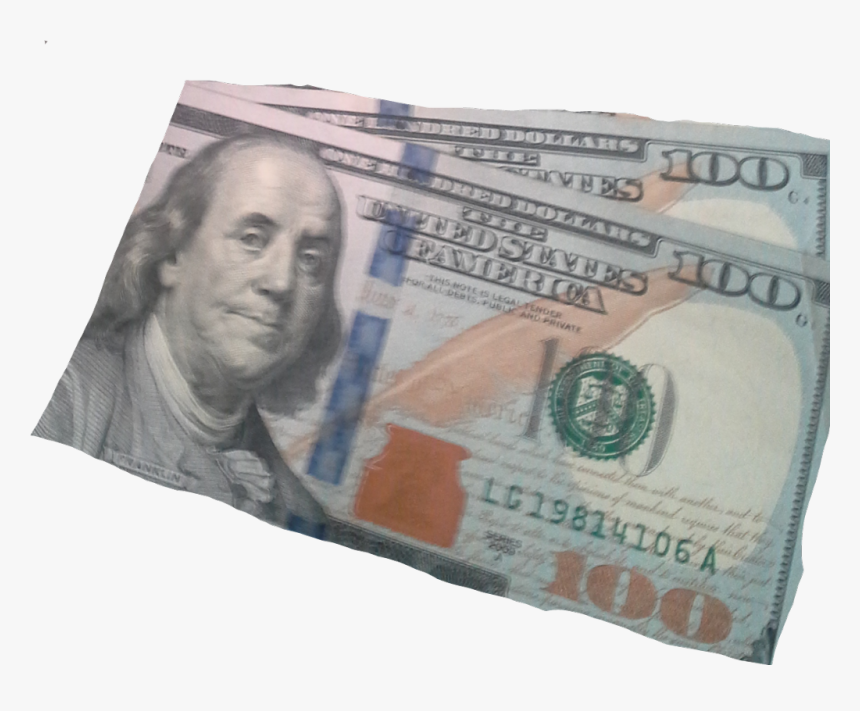 ##money #100dollars Make It Two #freetoedit - New 100 Dollar Bill, HD Png Download, Free Download
